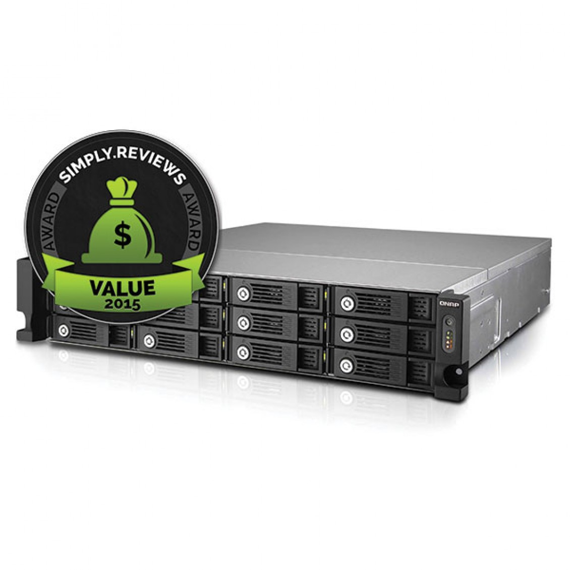 QNAP TVS-1271U-RP wins Value Award