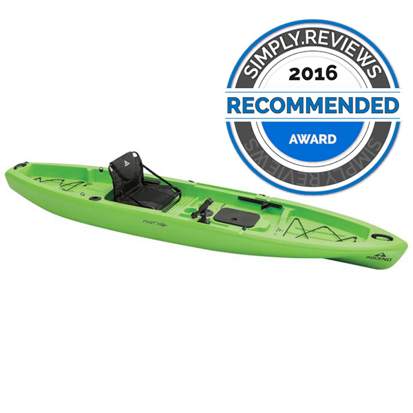 Ascend fs12t fishing kayak review simply reviews for Wide fishing kayak