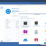The smart Hyper Backup app provides a single location for managing all your data backup tasks