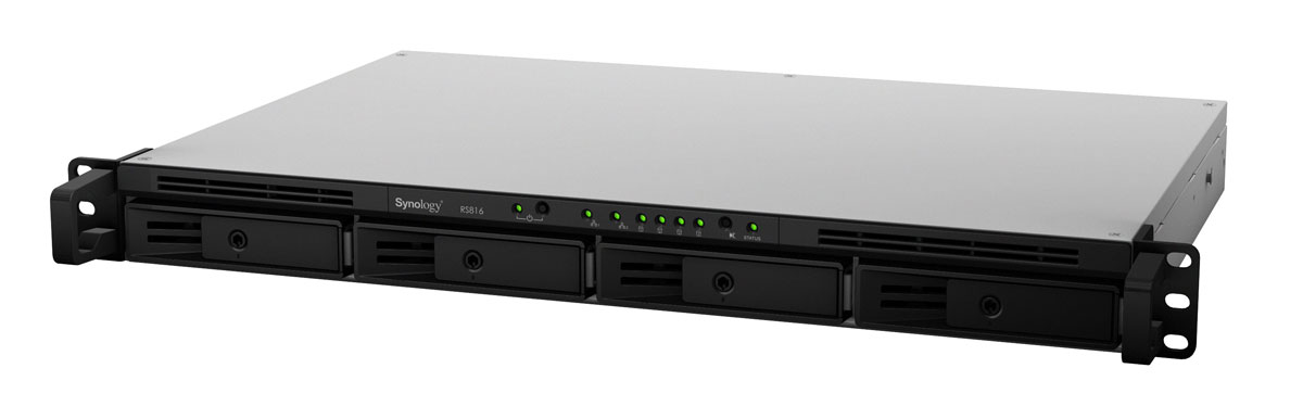 Synology Rackstation RS816 front view