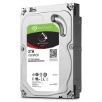 The appliance was supplied with a quartet of 2TB Seagate IronWolf NAS HDDs
