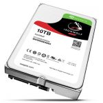 We used Seagate's 10TB IronWolf NAS hard disks to test the W4810
