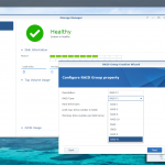 DSM 6.1 introduces Synology's RAID F1 option which is designed to avoid simultaneous SSD failures