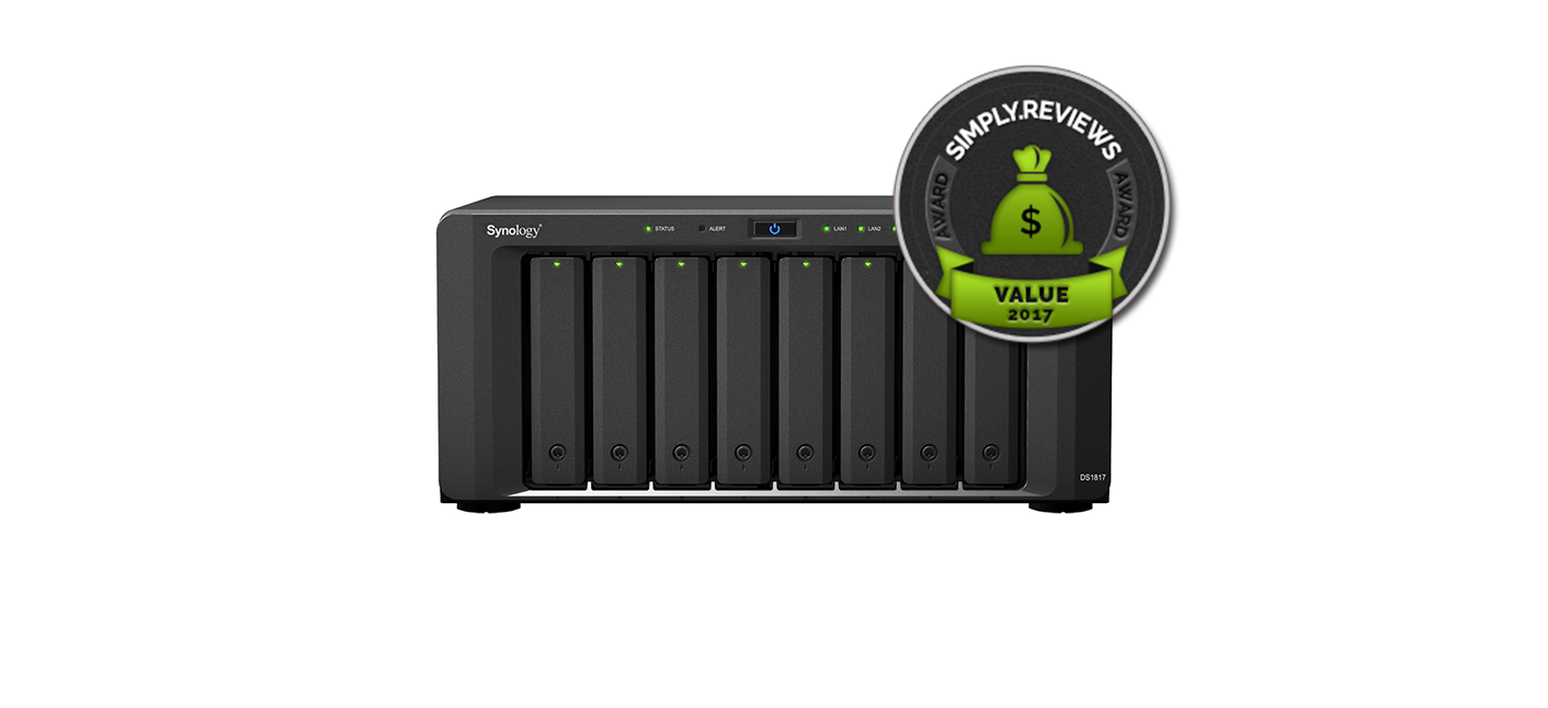Synology DiskStation DS1817 Review - SIMPLY REVIEWS