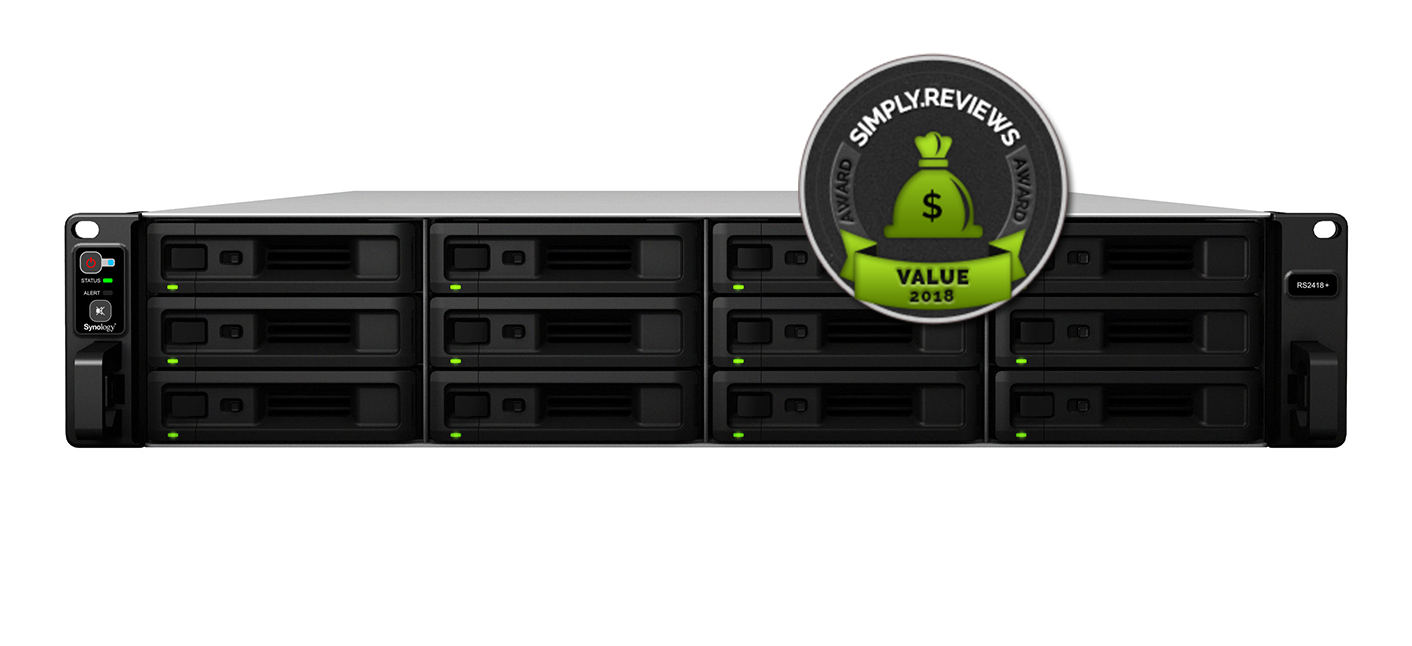 Synology RackStation RS2418+ Review - SIMPLY REVIEWS