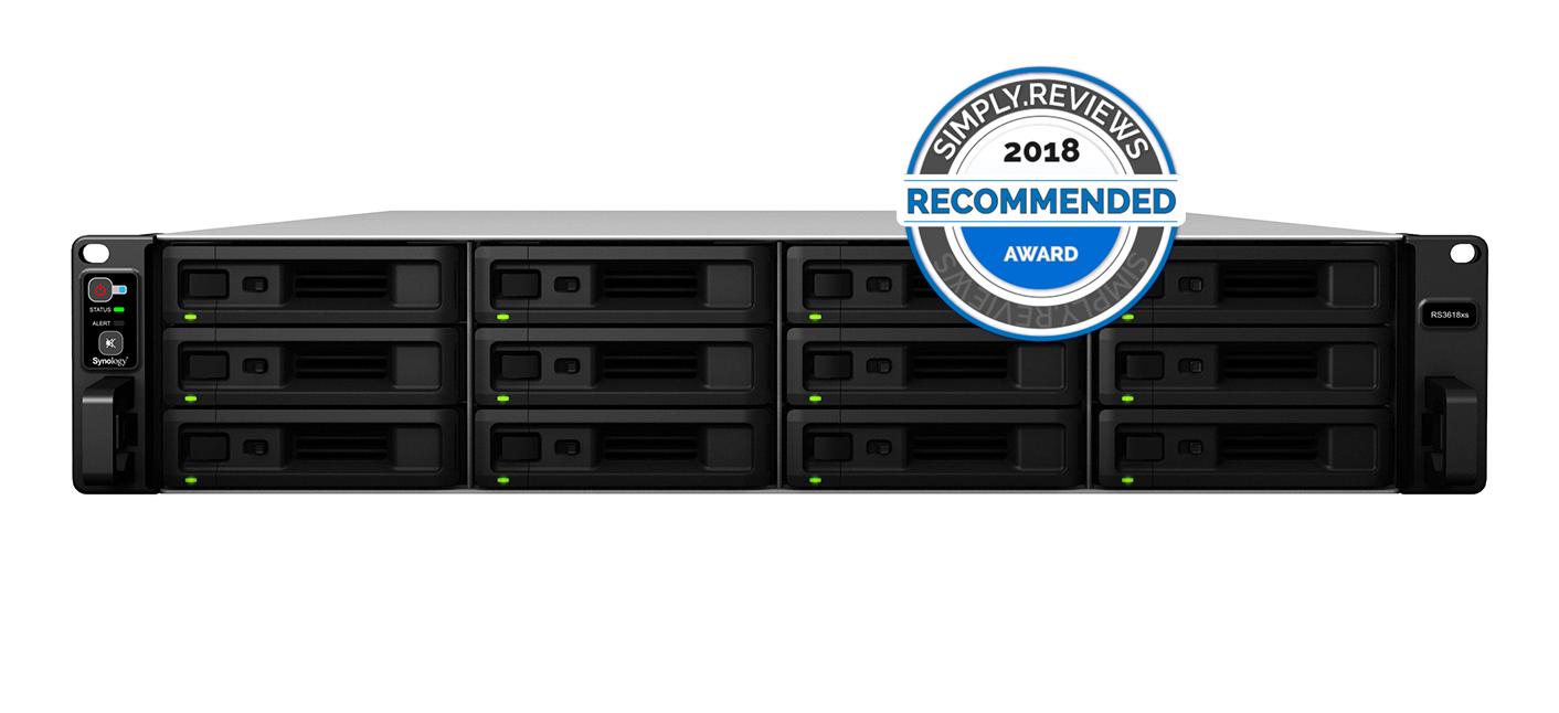 Synology RackStation RS3618xs Review - SIMPLY REVIEWS