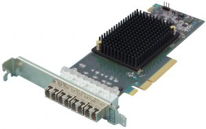 ATTO's Celerity quad-port 16Gbps Fibre Channel HBA