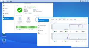 Synology mirrored NVMe SSD cache